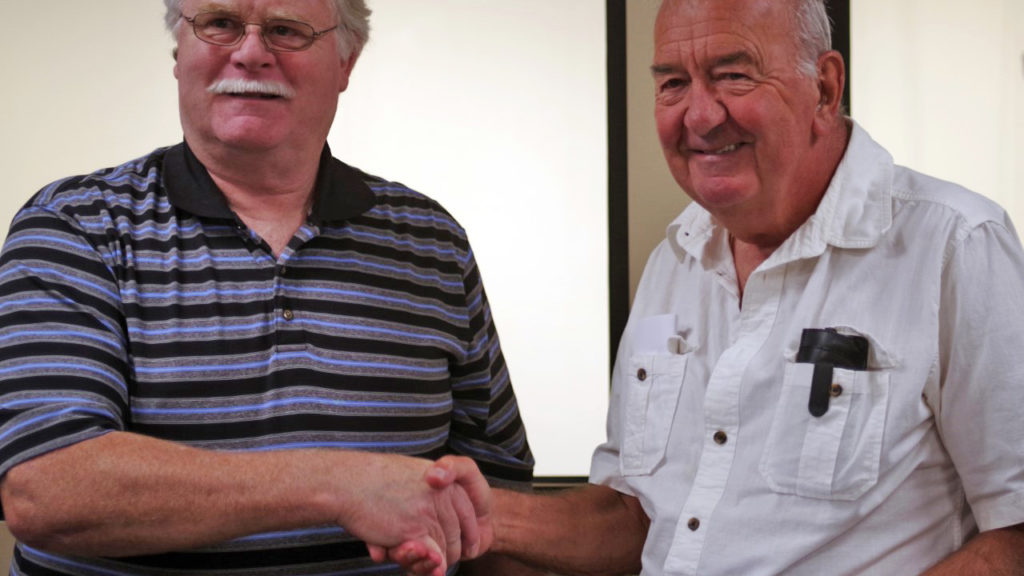 Thumbnail for Honouring our 50 year member, Albert Hitchen!