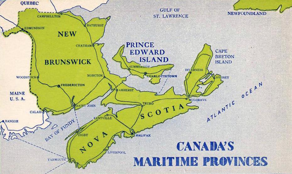 Thumbnail for Maritimes Region